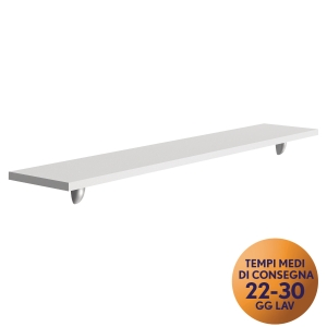 MENSOLA PER FRONT-OFFICE MECO OFFICE ARREDO L 160 BIANCO