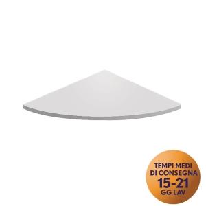 Raccordo angolare TDM linea Open L 80 x H 80 cm bianco