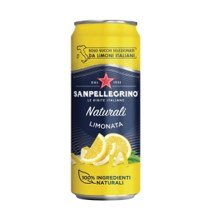 Bibita Limonata Sanpellegrino in lattina 33 cl - conf. 24