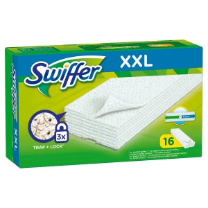 Panno Swiffer maxi per pulizia a secco dei pavimenti - conf. 16