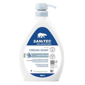 Crema di sapone mani Luxor Sanitec 1000 ml