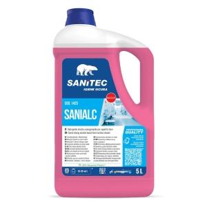 DETERGENTE universale profumato a base alcolica SANIALC 5L