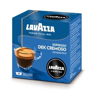 Caffè espresso Dek Cremoso Lavazza a Modo Mio in capsule - conf.16