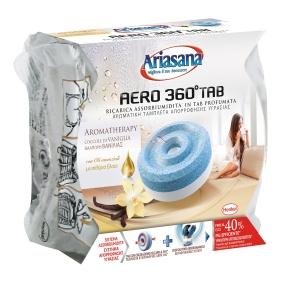 Ricarica in tab 450g per assorbiumidità Ariasana aero 360° vaniglia confortante