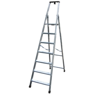 Scala professionale Facal Quadra in alluminio 7 gradini