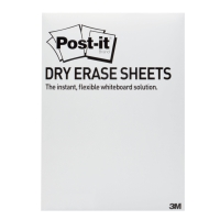 Post-it® Super Sticky Dry Erase 60,9 x 91,4 cm - pak van 15 vellen