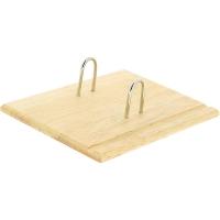 Plankje voor memoblok hout