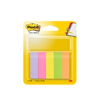 Post-it 670/5 neon markeerstroken 15x50mm 5 kleuren