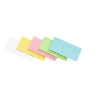Legamaster rechthoekige moderatiekaarten assorti kleuren - pack of 500