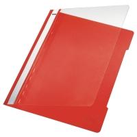 Leitz 4191 snelhechtmap A4 PVC rood
