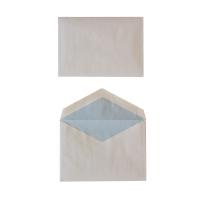 Speciale enveloppen 114x162mm met gegomde puntklep 70g wit - doos van 500