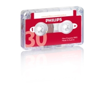 Philips LFH 0005 audiocassette voor dictafoon mini - 30 minuten