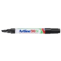 Artline 90N permanente marker beitelpunt 2 - 5 mm zwart