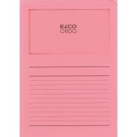 Elco 420503 Ordo L-mapjes met venster roze - doos van 100