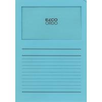 Elco 420513 Ordo L-mapjes met venster lichtblauw - doos van 100