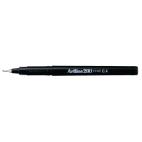 Artline Fineliner 200 0,4mm zwart