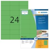 Herma 4409 gekleurde etiketten 70x37mm groen - doos van 2400