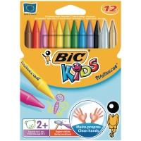 Bic Kids Plastidecor waskrijt assorti - doos van 12
