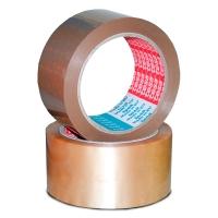 Tesa 4120 verpakkingstape 50mmx66m hoogstaande PVC bruin