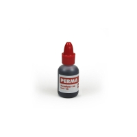 Inkt voor permanent stempel fles 20 ml rood