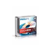 Philips DVD+RW 4.7GB 1-4x speed jewel case - pak van 5