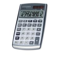 Citizen CPC112 basic+ zakrekenmachine zilvergrijs - 12 cijfers