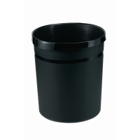 Han afvalbak uit kunststof 18l zwart