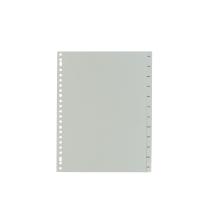 IndX tabbladen 12 maanden Nederlandse versie PP wit 23-gaats