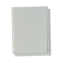 IndX numerieke tabbladen 52 tabs PP 23-gaats