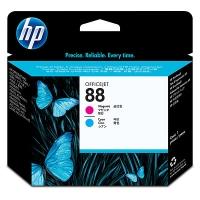 HP C9382A printkop inkjet cartridge nr.88 magenta/cyaan [90.000 pagina s]