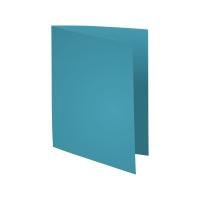 Exacompta Foldyne vouwmappen karton 180g blauw - pak van 100
