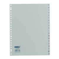 IndX extra brede alfabtische tabbladen PP 23-gaats