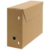 Gemeentelijke archiefdoos folio chloorvrij 26,5x37xrug 11,5cm karton 850g