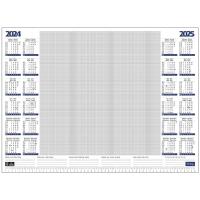 Lyreco bureau onderlegblok jaaroverzicht 57x41cm