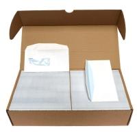 Enveloppe De Vroede type 1A gegomd prt binnen - doos van 1000