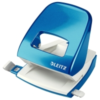 Leitz WOW 2-gaats perforator blauw 30 vel