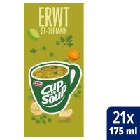 Cup-a-soup zakjes soep erwten - doos van 21