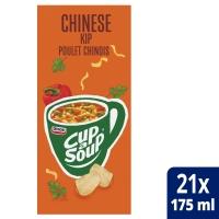 Cup-a-soup zakjes soep Chinese kip - doos van 21