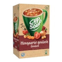Cup-a-soup zakjes soep goulash - doos van 21
