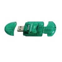 Perel geheugenkaartlezer/-schrijver USB voor Secure Digital (SD)/MulitMediaCard