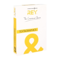 Rey Text & Graphics wit papier A4 90g - pak van 500 vellen