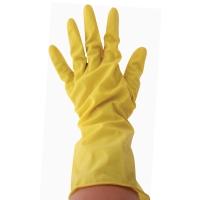 Afwashandschoenen met latex large - pak van 12