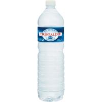 Cristaline plat water 1,5 liter - pak van 6