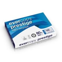 Evercopy Prestige gerecycleerd papier A3 80g - 1 doos = 5 pakken van 500 vellen