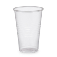 Drinkbeker uit plastic transparant 20 cl - pak van 100