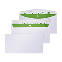 Bong Be Eco enveloppen 110x220mm zonder venster - doos van 500