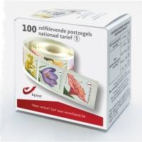 Zelfklevende postzegels nationaal 1 - doos van 100