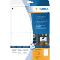 Herma 9534 weerbestendige etiketten 99,1x139mm wit - doos van 40