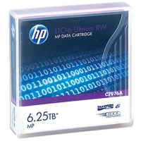 HP ultrium C7976A LTO6 data cartridge - 6.25 tb
