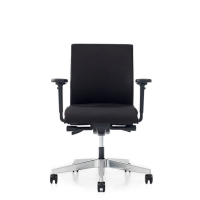 Prosedia Se7en Flex bureaustoel stof synchroon contact wielen zachte ondergrond